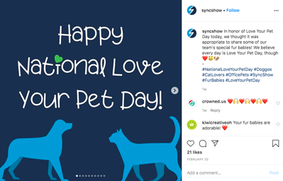SS National Love Your Pet Day