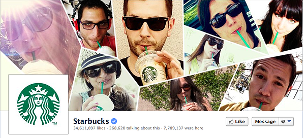 starbucks facebook cover photo